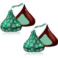 Конфеты Kisses Mint Truffle Dark Chocolate 50 g