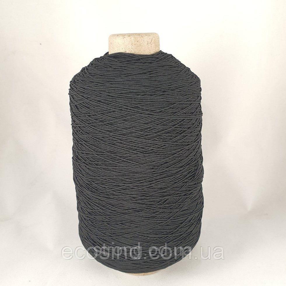 Нитка Резинка 400 грам. Черная (СТРОНГ-1407)