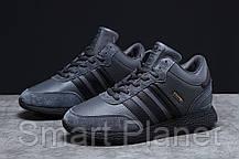 Зимние мужские кроссовки 31282, Adidas Iniki, темно-серые, < 43 44 46 > р. 43-27,5см., фото 2