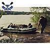 Килевая лодка Барк ВТ-290С надувная лодка ПВХ Bark BT-290S двухместная жесткое дно лодка с килем, фото 2