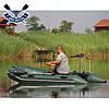 Моторная лодка Барк ВТ-310Д надувная лодка ПВХ Bark BT-310D трехместная лодка под мотор реечный настил, фото 3