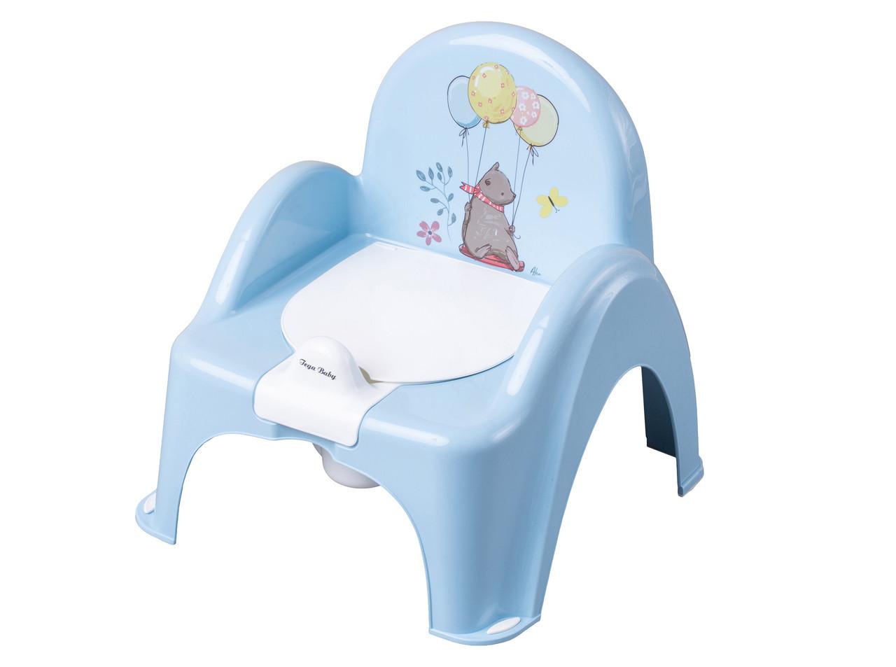 Горшок-стульчик Tega Baby Лесная Сказка Голубой