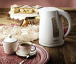 Чайник електричний Camry CR 1255 White, фото 4