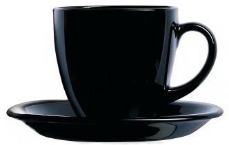 Сервиз для чая Luminarc Carine Black 12 предметов (P4672)