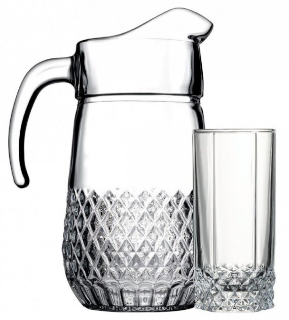 Питьевой набор Pasabahce Вальс 7 предметов