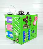 Развивающая игрушка бизикуб Busy Cube Tornado Зеленая, фото 4