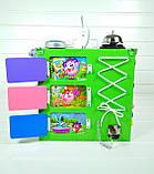 Развивающая игрушка бизикуб Busy Cube Tornado Зеленая, фото 5