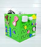 Развивающая игрушка бизикуб Busy Cube Tornado Зеленая, фото 6