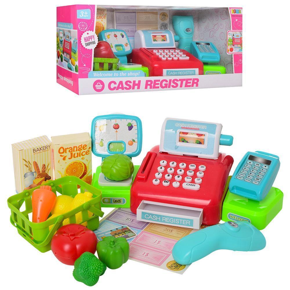 Детский кассовый аппарат 8352