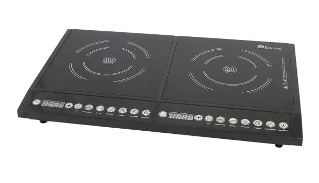 Индукционная настольная плита Domotec MS-5862 2000 Вт Черная