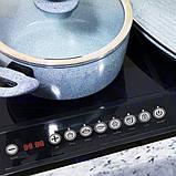 Индукционная настольная плита Domotec MS-5862 2000 Вт Черная, фото 2