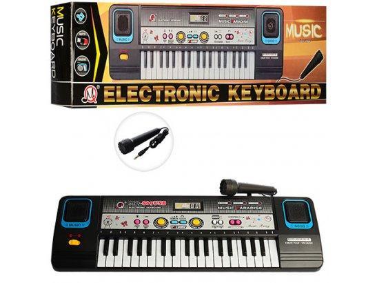 Электронное пианино с микрофоном синтезатор Electronic Keyboard MQ-869 USB