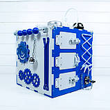Развивающая игрушка бизикуб  Busy Cube Tornado Бело-синяя, фото 6
