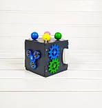 Развивающая игрушка Мини бизикуб Mini Busy Cube Tornado Черная, фото 3