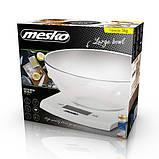Mesko MS 3163 Кухонные весы с чашей, фото 5