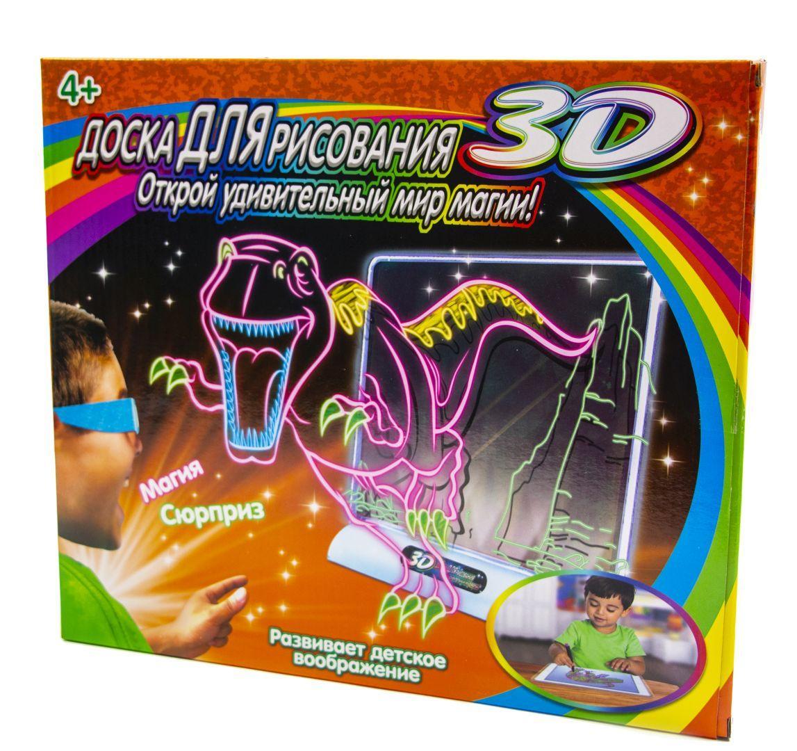 """3D доска для рисования """"Мир динозавров"""""""