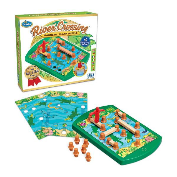 Игра-головоломка Переправа   ThinkFun River Crossing 76349