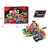Трек-запуск Тачки Kronos Toys 6336, фото 2