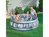 Детский надувной бассейн Bestway 51080 157-43см 512 литров космический корабль, фото 2