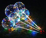 Шарики Бобо на палочке(3 режима свечения),3 батарейки, фото 2