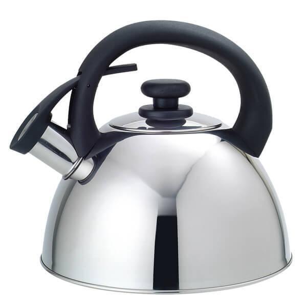 Чайник 2,5 л Maestro Steel/Black (MR-1302)