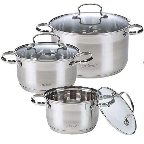 Набор посуды MR-3520-6M кастрюли