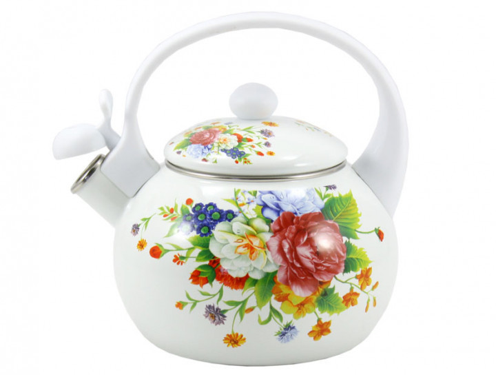 Чайник Zauberg WHITE HANDLE 2,2 л (8/L)