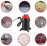 Пылесос DMS® 4in1 1800Вт промышленный, многоцелевой, контейнер 30л, без мешка, фото 8