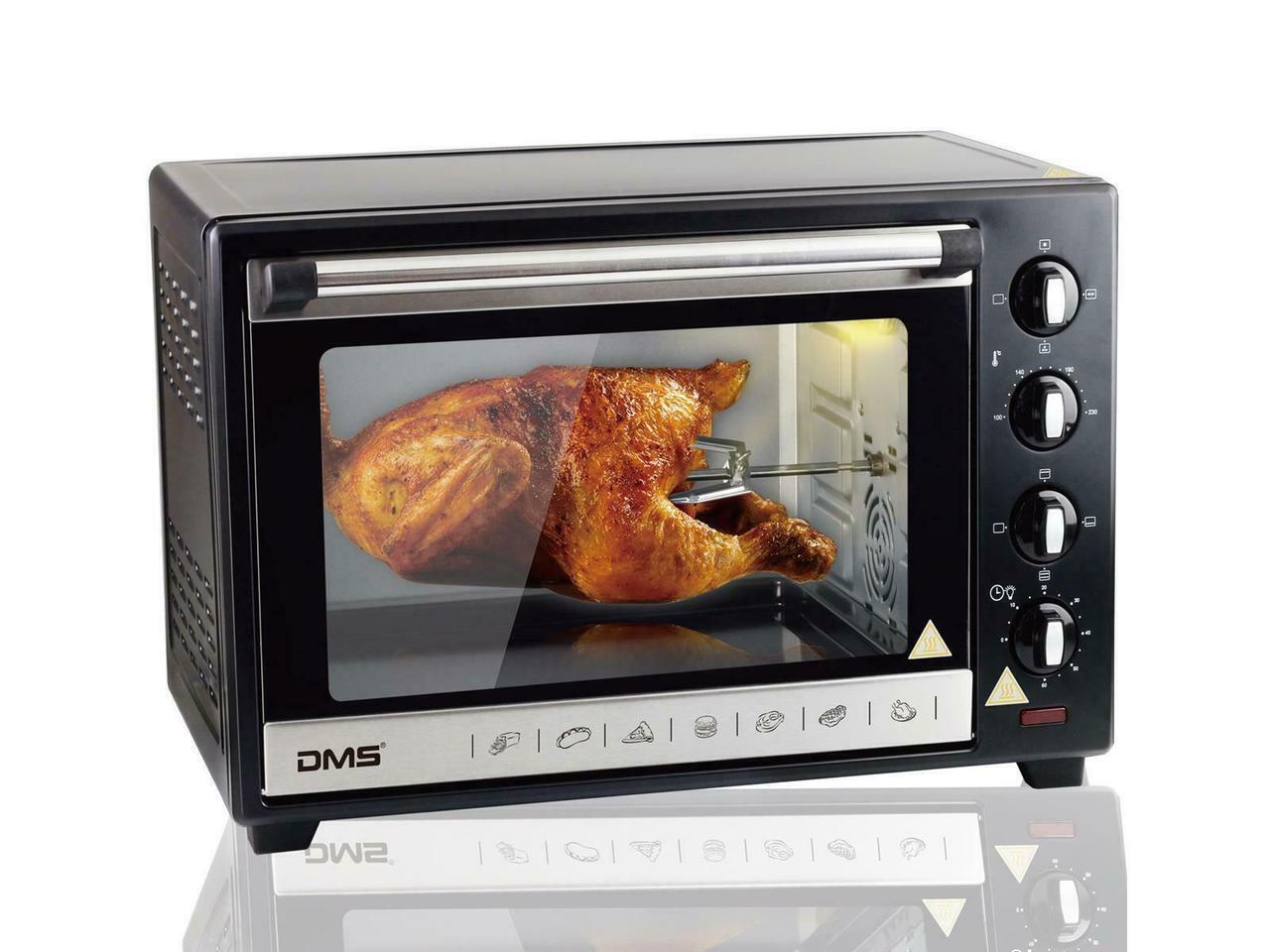 Электрическая печь DMS OCR48D духовка настольная  обьем 48л мощность 2000вт