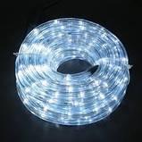 Дюралайт светодиодный Led гирлянда 50 м белый с переходником, фото 2