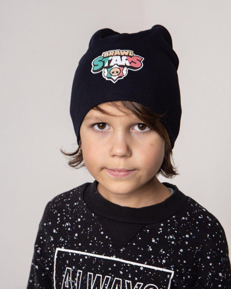 Трикотажна шапка для хлопчика на весну-осінь оптом - Артикул 2687