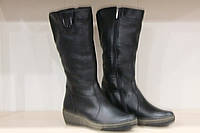 Сапоги кожаные женские черные 37-42 р от производителя