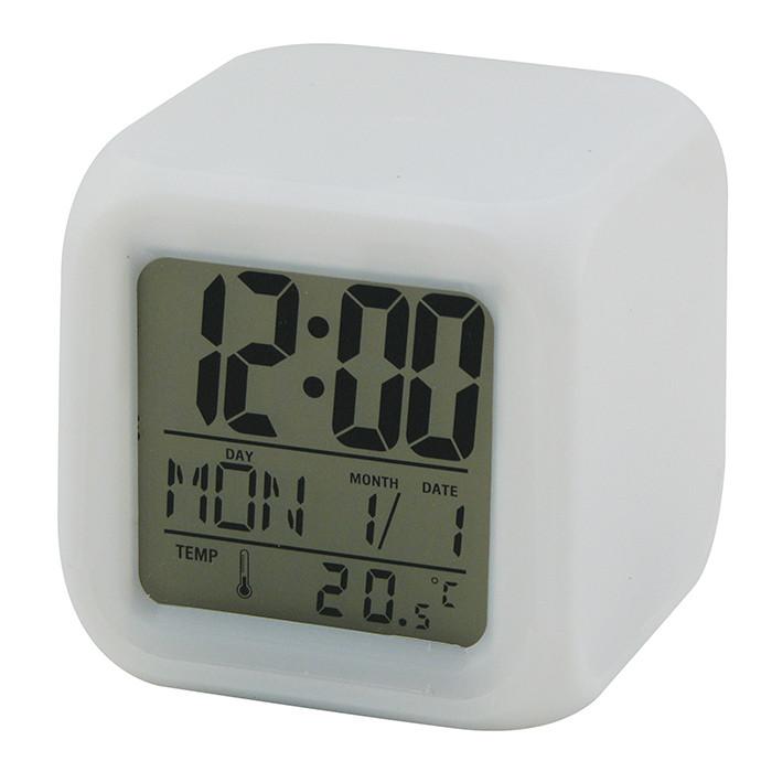 Настільний годинник хамеліон з будильником CX508