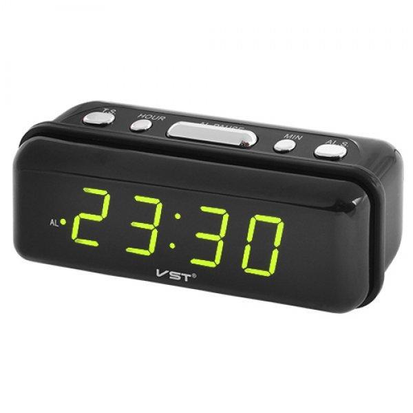 Світлодіодний настільний годинник з будильником VST-738