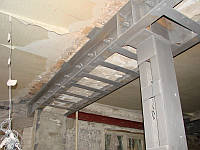 Усиление строительных конструкций