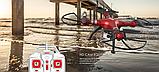 Квадрокоптер Syma X8HG з HD камерою 5 Мегапікселів 4CH 2.4 G . Дрон на пульті, фото 9