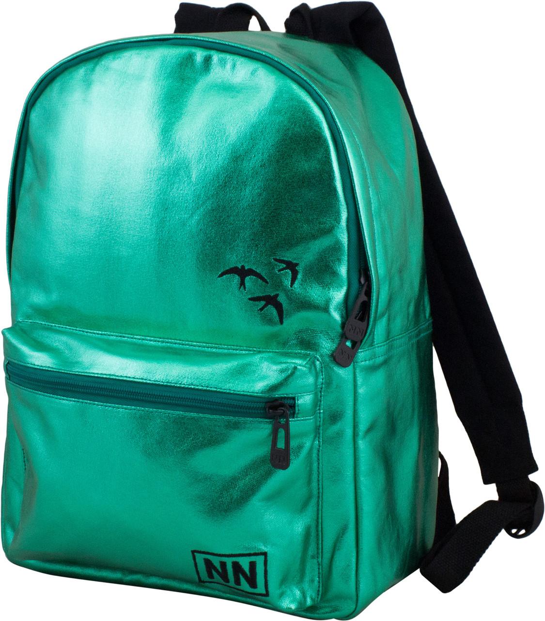 Рюкзак подростковый яркий молодежный Winner One 253 для девочки зеленый