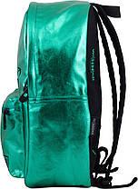 Рюкзак подростковый яркий молодежный Winner One 253 для девочки зеленый, фото 2