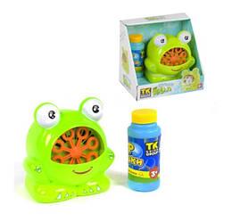 Игрушка для ванной Fun Bubble Лягушонок Ква выдувает мыльные пузыри