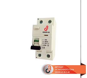 Автомат остаточного тока EBS5R-63-30-2-40
