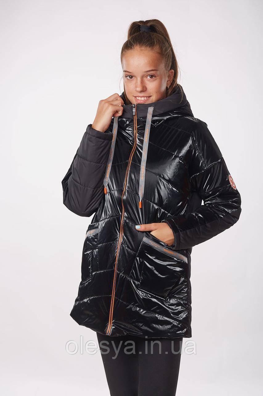 Куртка демисезонная для девочки Рина Размеры 140- 164 Новинка!