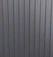 Профнастил Матовый 1,16*1,5 м Графитовый серый
