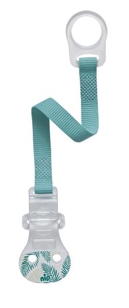 Клипса для пустышки Nip, бирюзовый (37001)