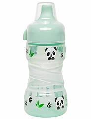 Поїльник Nip Trainer cup Панди, 260 мл, зелений (35099)