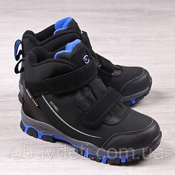 Качественные термо ботинки american club для мальчика 36 р-р - 24 см