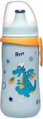Поїльник Nip PP Kids Cup Дракончик, блакитний, 330 мл (35051)