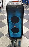 Колонка акумуляторна ZXX partybox c радіомікрофонами (250W/USB/BT/FM), фото 5