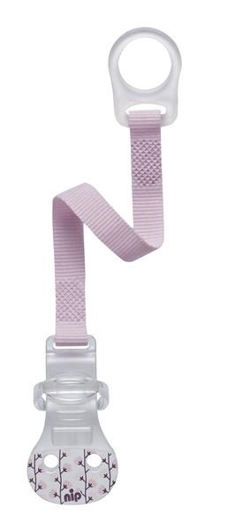 Кліпса для пустушки Nip, рожевий (37001)