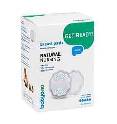 Прокладки лактационные BabyOno Natural Nursing, белый, 24 шт. (298/01)