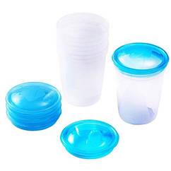 Контейнеры для хранения грудного молока BabyOno, 4 шт. (1028)